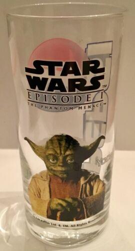 Star Wars Episode1 The Phantom Menace YODA glass verre glas PEPSI
