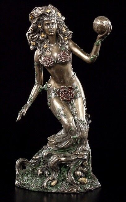 Terre Mère - Gaia Figurine - Bronze-Optique
