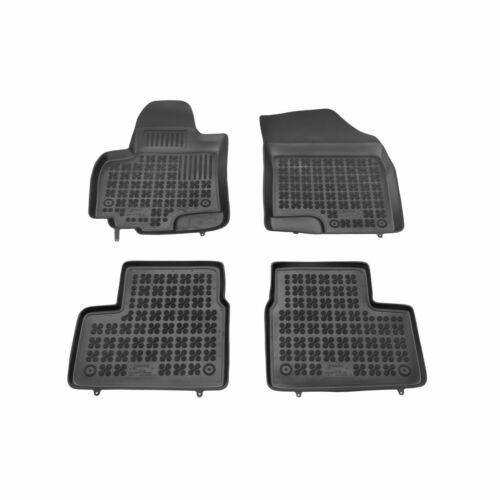 Gummi Suzuki Swift IV ab 2010 4 Stück Fußmatten Schwarz
