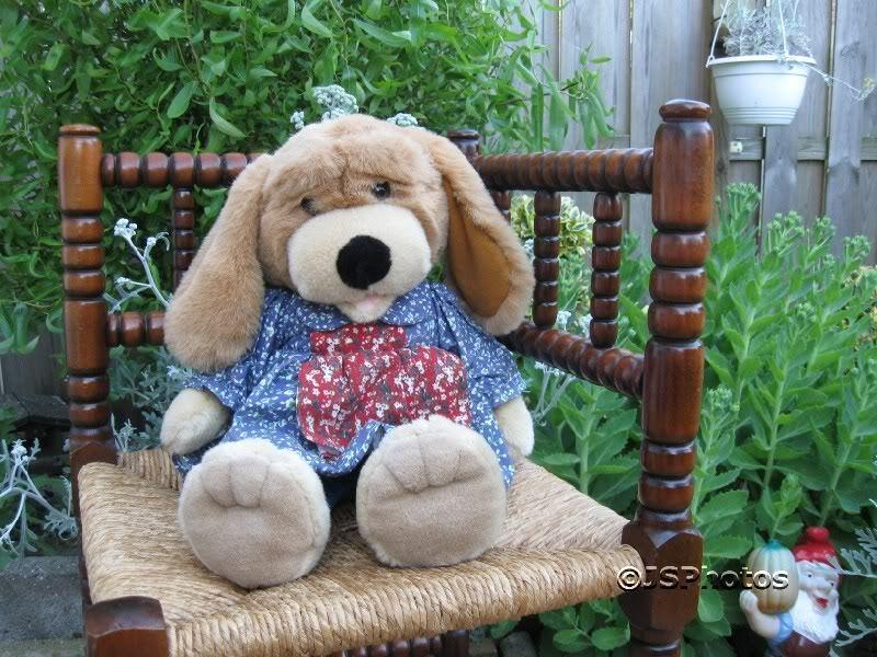 Warex Dutch Netherlands Girl Dog Stuffed Animal Plush 17 Inch 1970's
