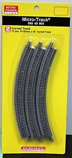 Z Scale - MICRO-TRAINS MTL 990 40 904 Curved Track Pack R195mm x 45*- 12 Pieces