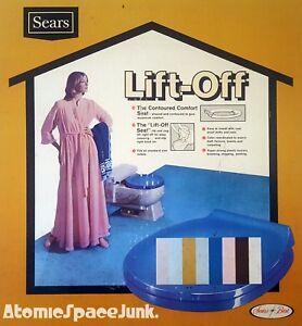 Surprising Details About Sears Sculptura Vintage Toilet Seat Royal Blue Universal Rundle 1960S 1970S Nos Unemploymentrelief Wooden Chair Designs For Living Room Unemploymentrelieforg