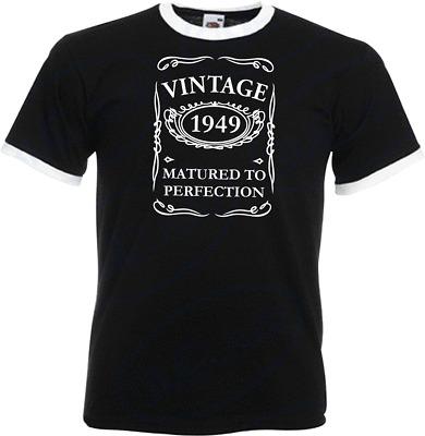 80th Birthday Gifts Presents Year 1940 Unisex Ringer T-Shirt Wreaking Havoc