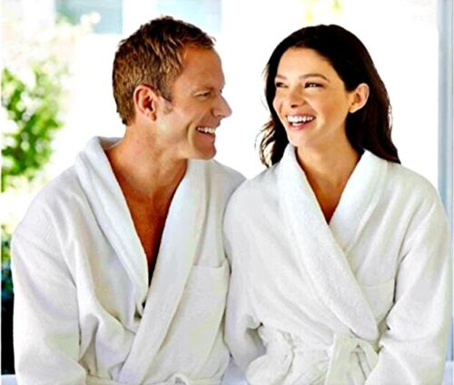 Small//Medium//Large//X-Lar Unisex//Mans//Woman 100/% Cotton Toweling Bath Robe Gown