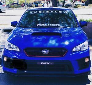 Auto Parts and Vehicles Auto Parts & Accessories World Rally Blue 40 SUBIEFLOW banner Subaru STI WRX BRZ JDM sticker vinyl decal