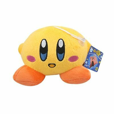 "Anime KIRBY 4.2"" / 10.5cm Smile Soft Plush Stuffed Toy Yellow"