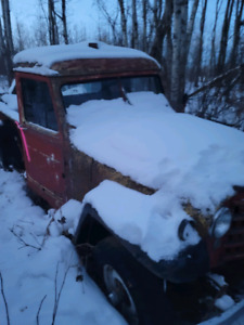1950 jeep willys truck
