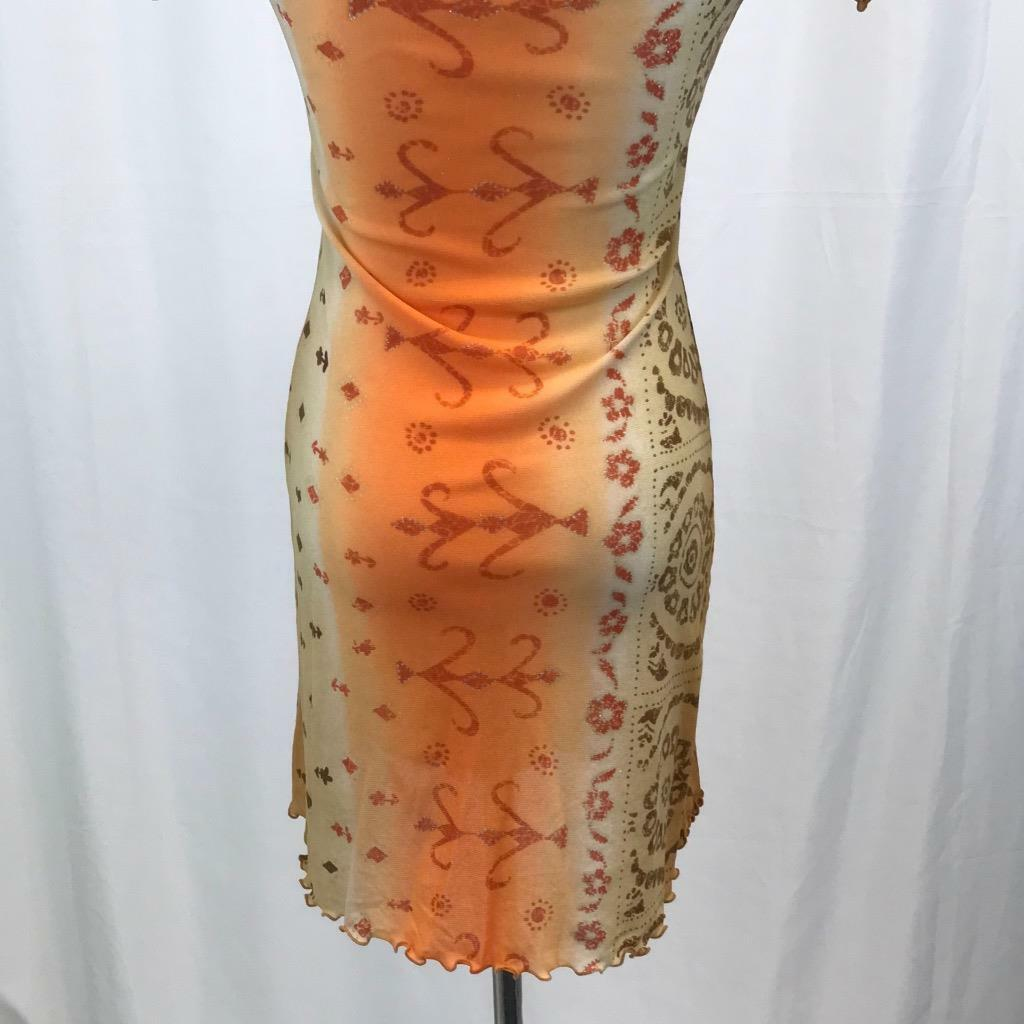 Bacirubati  300 Swimwear orange Multicolor Multicolor Multicolor Ruffle Cover Up Dress Sz  46 bcdcd9