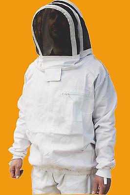 imkerjacke Bienenschutz Netzhut Reißverschluss Vorne Größe XL