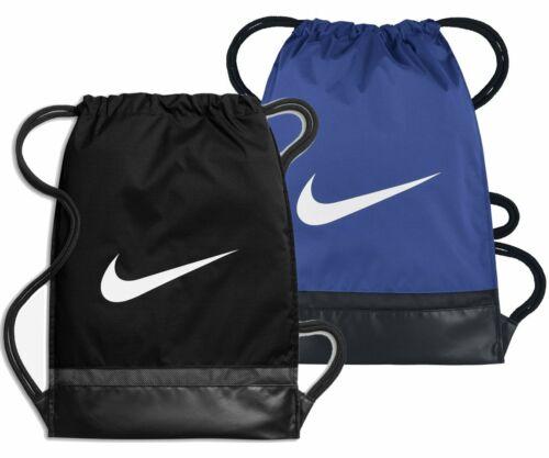 NIKE Herren Damen Logo Swoosh Sport Turnbeutel Tasche GYMSACK Brasilia BA5338
