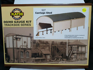 Ratio 527 Carriage Shed OO scale