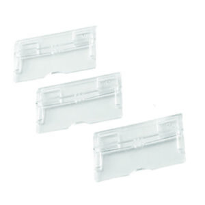 Q-Connect Tabs Suspension File Clear Pack of 50
