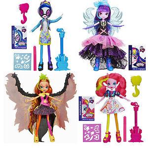 my little pony equestria girls rainbow rocks fashion doll