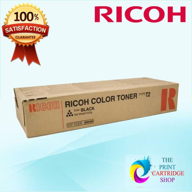 New & Original Ricoh 888483 Type T2C Black Toner Aficio 3224C 3232C 25K Pages