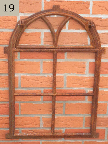 Stallfenster Gusseisenfenster Eisenfenster Gusseisen Kippflügel 49,5x75cm REPRO