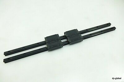 THK Linear Bearing LM GUIDE SRS15M 550mm 2Rails 4Blocks NSK IKO CNC Router