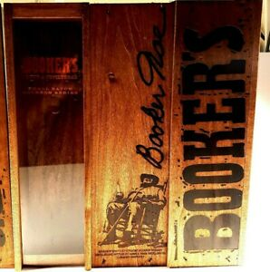 Booker/'s Uncut /& Unfiltered Small Batch Bourbon Wooden Storage Box