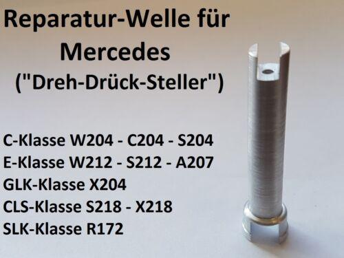 Mercedes ola lápiz Comand Controller botón giratorio w204 c220 s204 C-Klasse Repair