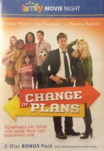 Change-of-Plans-2-Disc-Bonus-Pack-DVD-Randy-Jackson-Soundtrack-CD-BRAND-NEW