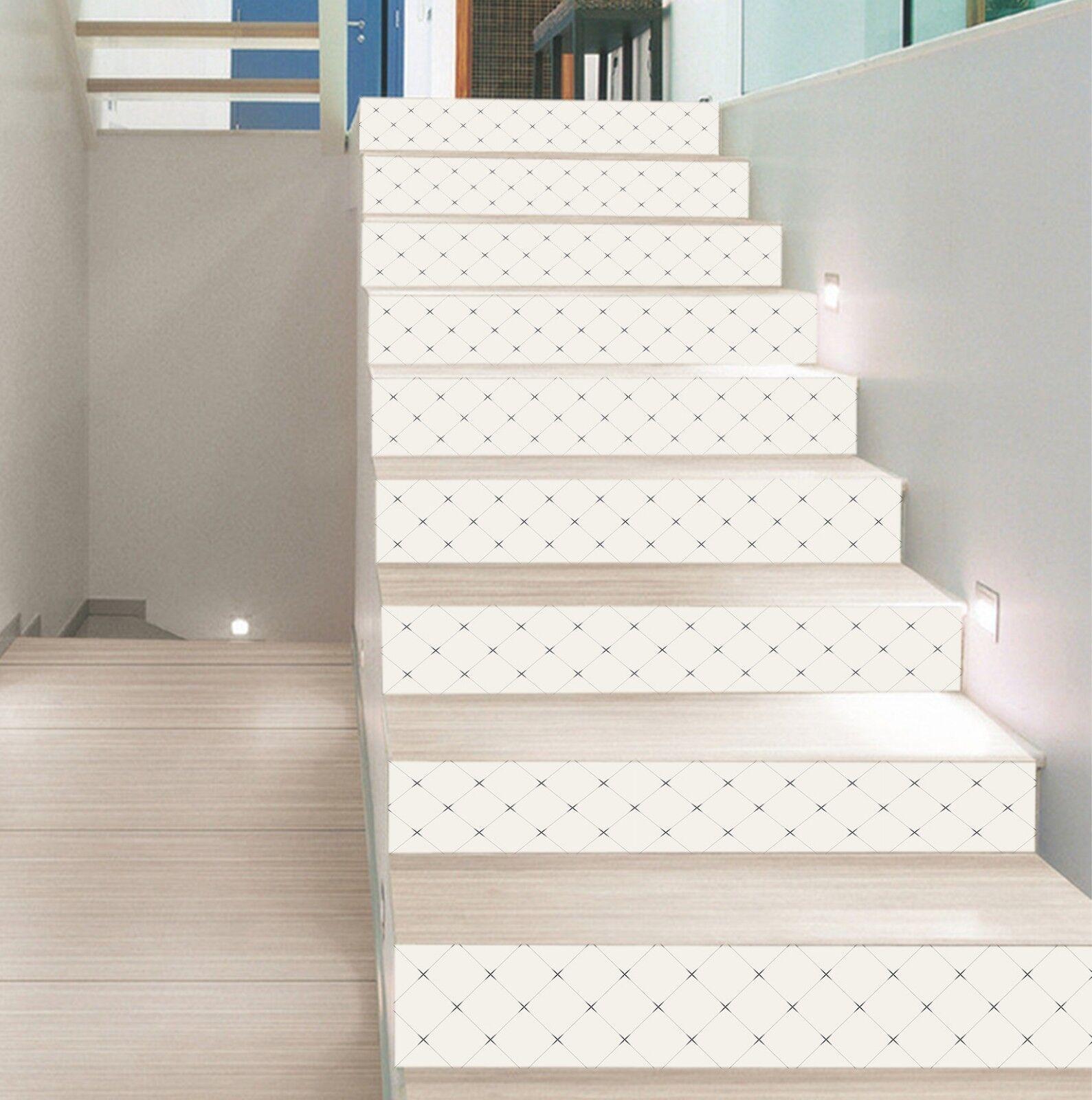 3D Stern Ziegel 87 Fliese Marmor Stair Risers Fototapete Vinyl Aufkleber Tapete