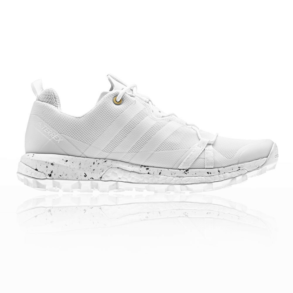 adidas Womens Terrex Agravic Trail Running Shoes Trainers Sneakers White Sports Seasonal clearance sale