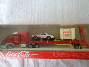Hartoy Inc Coke Toy Coca Cola Die Cast1 64 Turbo Racing Team Car
