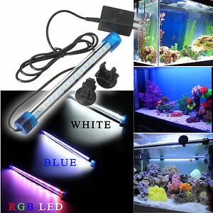 40 50cm led r hren aquarium beleuchtung wasserdicht leuchtstoffr hre licht fisch ebay. Black Bedroom Furniture Sets. Home Design Ideas