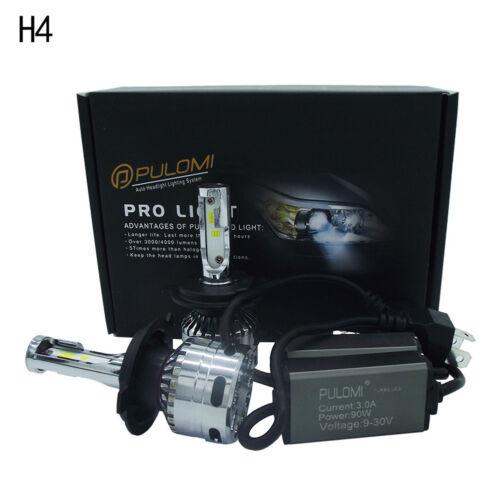 180W 19200lm 2 Sides CSP LED Headlight Kits H4 9003 HB2 Hi//Low Beam 6000K Bulbs