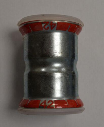 GEBERIT Mapress 22007 Muffe Ø42 42mm Pressfitting Neu