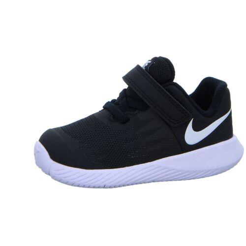Toddler Shoe Black//Volt//White # 907255-001 NIKE Boys/' Star Runner TDV