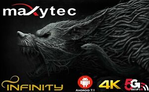 Details about MAXYTEC INFINITY| 4K UHD H 265 |IPTV |2GB/8GB  FLASH|Android|5G WIFI|EXPRESS POST