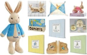 Image Is Loading Personalised Peter Rabbit Gift Ideas For New Born