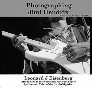 """PHOTOGRAPHING JIMI HENDRIX"" Signed Numbered,-FreeUSA- Shipping-bonus Print"