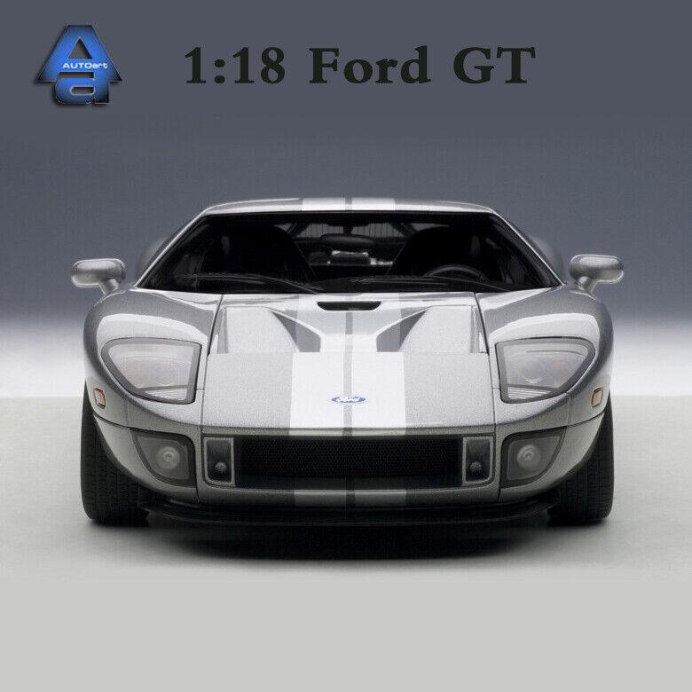 Autoart SCALA 1 18 FORD GT Super Auto Sportiva modellolo Diecast Auto Collezione