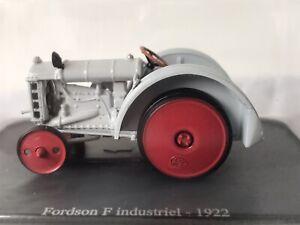 U-H-HACHETTE-DIECAST-1-43-1922-Fordson-F-Industriel-TRACTOR