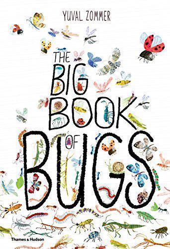 The Big Book Of Insectos Por Barbara Taylor,Yuval Zommer,Nuevo Libro,Libre Y