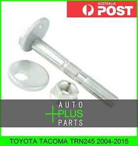 Fits-TOYOTA-TACOMA-TRN245-2004-2015-Cam-Camber-Adjustment-Bolt-Plate-Kit