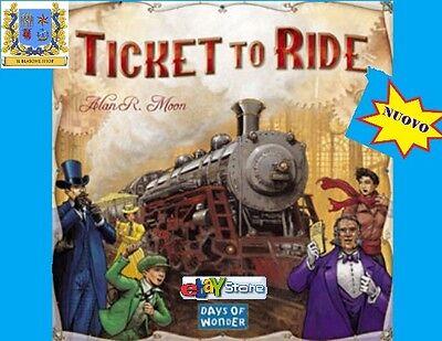 TICKET TO RIDE USA Gioco da Tavolo in Italiano Treni Days of Wonder Stazione