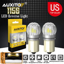2pcs 1156 Led Light Bulbs Drl Reverse Lights 6000k White Replace Halogen Upgrade