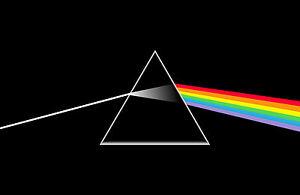 Framed Print Pink Floyd Dark Side Of The Moon Pyramid