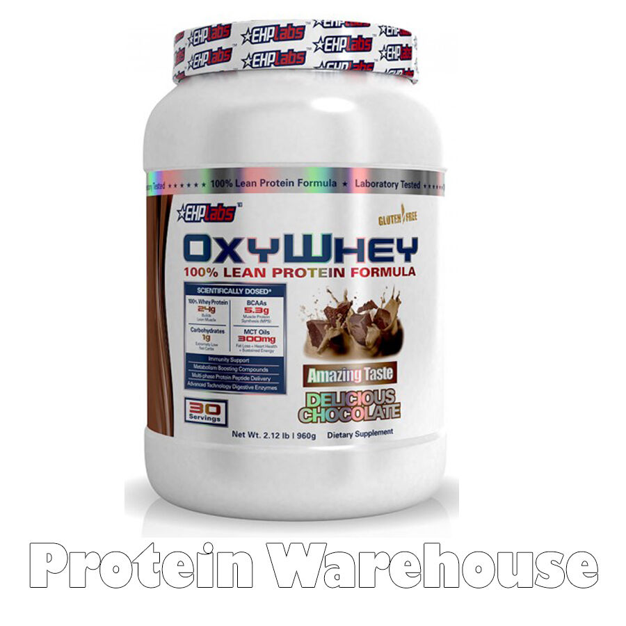 EHP Labs Oxy Whey Lean Protein 30 Servs EHPLabs Oxy Whey Diet Weight Loss Shake
