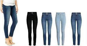 100% De Qualité Mesdames Femmes Ex-zara Style Jeans Bleu Noir Denim Pantalon Grande Taille 8-18 Rrp £ 29 Brillant En Couleur