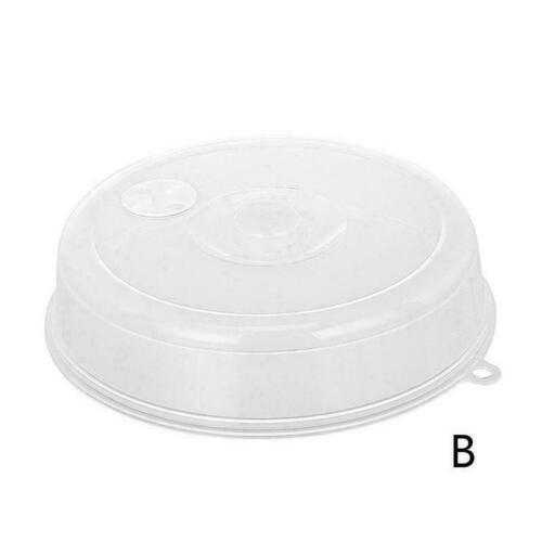 Plastic Lid Kitchen Microwave Food Cover Plate Vented new Splatter T2R1