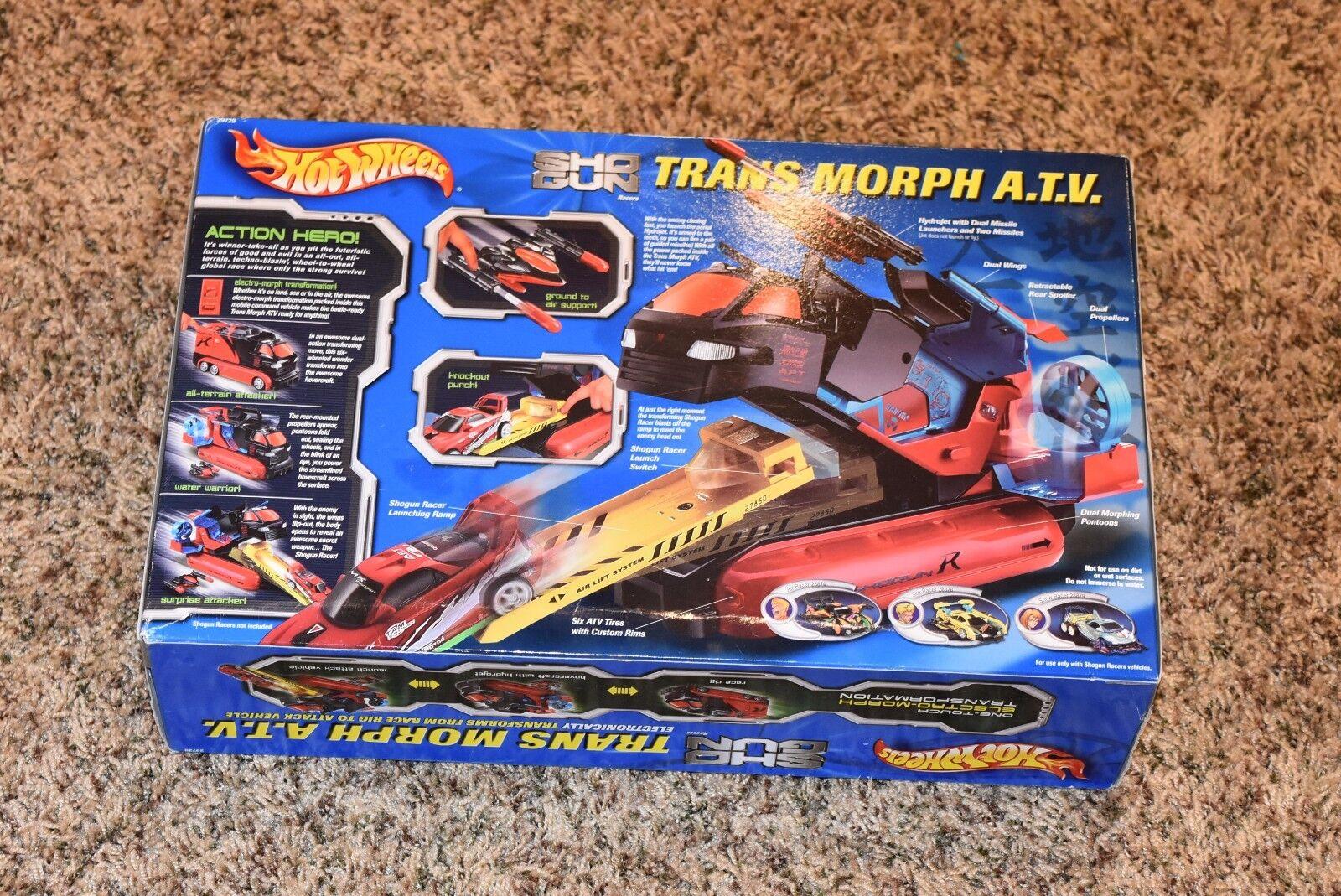 A estrenar todavía en caja nunca abrió Coleccionable Hot Wheels Trans Morph all-terrain vehículo 2001