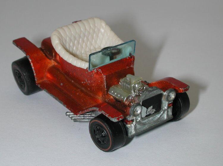 Redline Hotwheels orange 1968 Hot Heap oc11729
