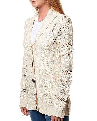 Women's Billabong Hotham Knit Cardigan. Size 10,12. NWT. RRP $89.99.