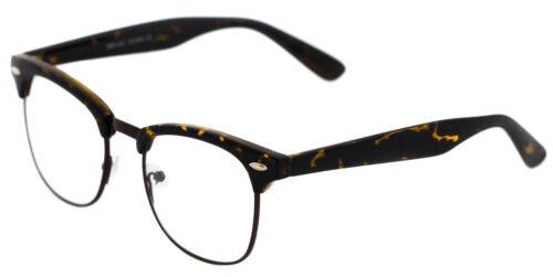 80s Vintage CLBMSTR Clear Lens Men Women Nerd Way Style Fare Retro Eyewears