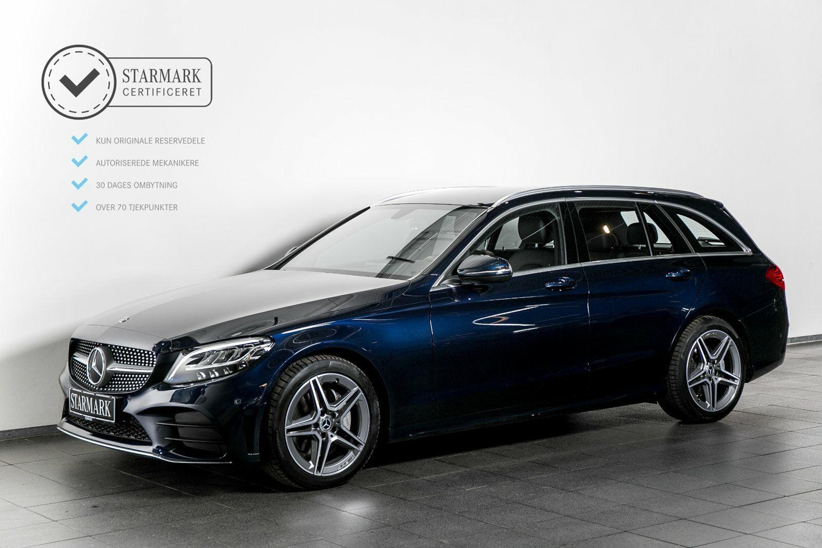Mercedes C200 1,5 AMG Line stc. aut. 5d - 489.900 kr.