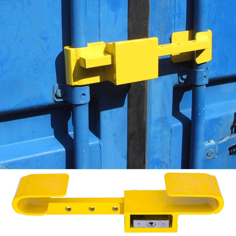 Container Schloss Sicherheitsschloss Diebstahlschutz Bügelschloss 4 Schlüssel  | Bestellungen Sind Willkommen  | Elegantes Aussehen  | Haltbarer Service  | Vorzügliche Verarbeitung