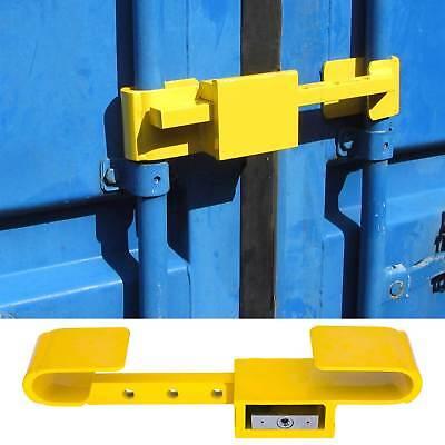 Container Schloss Sicherheitsschloss Diebstahlschutz Bügelschloss 4 Schlüssel Bloedcirculatie Activeren En Pezen En Botten Versterken